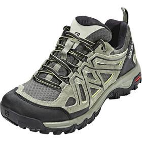 Salomon M's Evasion 2 Aero Shoes Castor Gray/Beluga/Fern